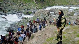 Jammu And Kashmir Floods: Amarnath Yatra Resumes After 3 Days as Water Level in Jhelum Recedes