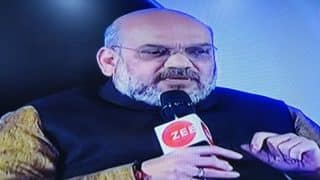 Zee India Conclave Updates: BJP Will Form Government in Karnataka, Says Amit Shah
