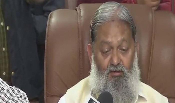 हरियाणा के स्वास्थ्य मंत्री अनिल विज (फाइल फोटो)