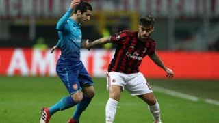 Europa League 2017-18: Arsenal Beat Milan 2-0 in First Leg of Round of 16