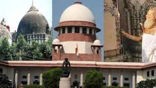 14 अक्टूबर को अंतिम दौर में प्रवेश करेगी सुप्रीम कोर्ट में अयोध्या मामले की सुनवाई