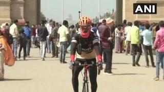 6,000 साइकिल यात्रा पर निकले बंसीलाल, देंगे शांति का संदेश
