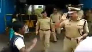 Bengaluru Police Commissioner T Suneel Kumar Salutes Schoolboy; Video Goes Viral
