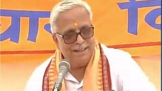 Ram Temple Construction in Ayodhya Will be Completed by 2025, Says RSS' Bhaiyyaji Joshi