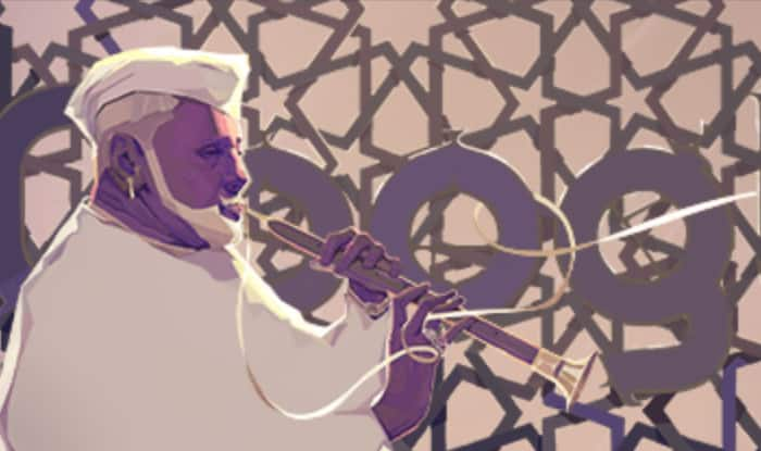 Google dedicates doodle to Bismillah Khan on 102nd birth anniversary