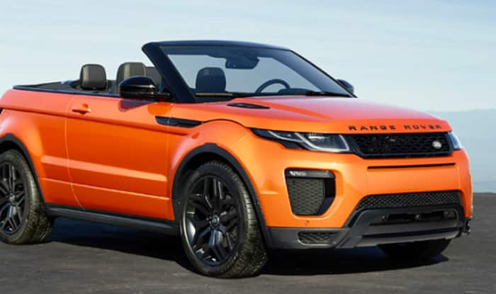 Range Rover Evoque Photos: The Convertible SUV Launched in ...