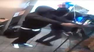 Heroic Pizza Hut Worker Fights off Three Armed Robbers (Video)