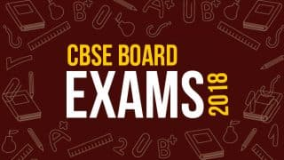 CBSE Class 10 Science Exam Over, Chemistry Leaves Students Sweating