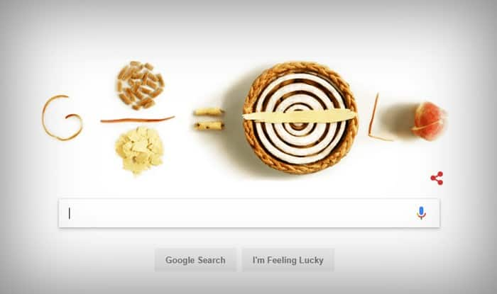 Remembering Pi: Google Doodle honours mathematical constant with apple pies
