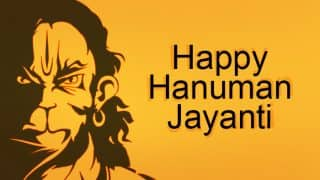 Hanuman Jayanti 2018: Here is the List of Wishes, Messages, Greetings to Send To Your Friends & Family