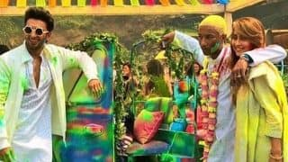 Holi 2018 : Ranveer Singh Celebrates The Festival Of Colours With American Singer Pharrell Williams - View Pics