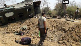 छत्तीसगढ़ में बड़ा नक्सली हमला, CRPF के 9 जवान शहीद
