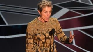 Oscars 2018: Man Suspected Of Stealing Frances McDormand's Award Arrested