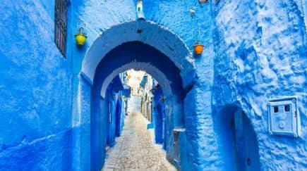 These Gorgeous Pictures of Chefchaouen, the Blue Pearl of Morocco, Will Spark Your Wanderlust