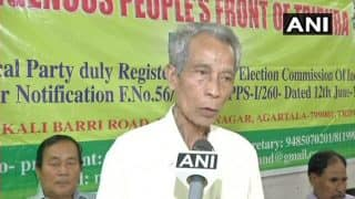 BJP Ally IPFT Demands Separate State For Tribals of Tripura
