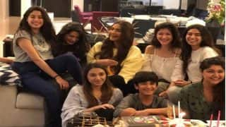 Janhvi Kapoor Birthday: Sonam Kapoor, Anshula Kapoor, Rhea, Khushi Come Together As The Dhadak Actress Turned 21 - See Pic And Video