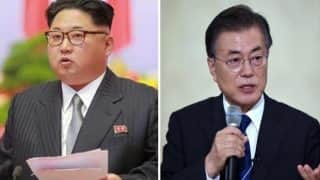 Kim Jong-un Meets Moon Jae-in; North, South Korea Agree on No War in Peninsula
