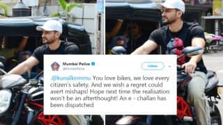 Bollywood Actor Kunal Khemu Apologizes For Riding Bike Without Helmet, Mumbai Police Served E-Challan