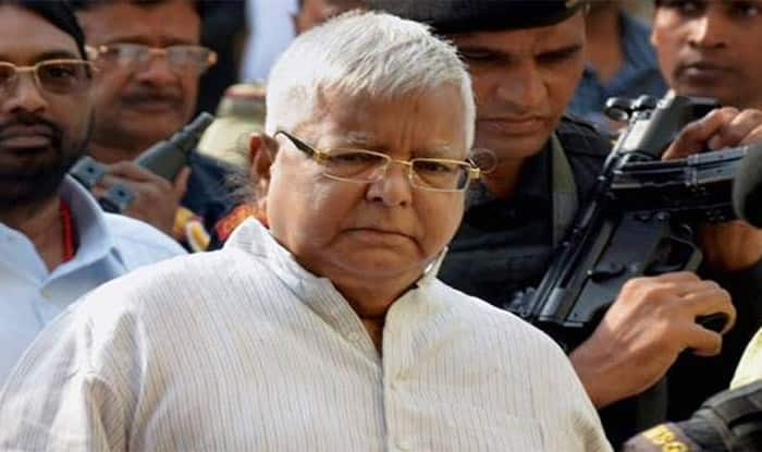 Lalu falls ill in jail, hospitalised