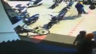 गाजियाबाद: बाइक सवार बदमाशों ने कार ओवरटेक कर 19 लाख रुपए लूटे, हेलमेट से किया घायल