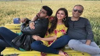 Arjun Kapoor And Parineeti Chopra Shoot For Namaste England In Patiala - See Pic!