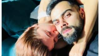 Anushka Sharma Shares An Adorable Pic Kissing Her 'One And Only' Virat Kohli And It's Going Viral!