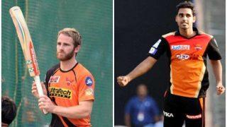 सनराइजर्स हैदराबाद में सत्ता परिवर्तन,  विलियम्सन बने कप्तान तो भुवी उप-कप्तान