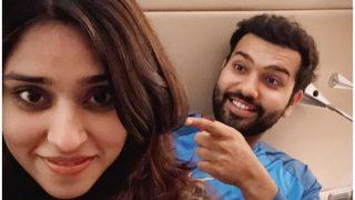 IPL से पहले रोहित शर्मा ने किया क्रिकेट से किनारा, पत्नी रितिका के साथ ऐसे बिता रहे हैं पल