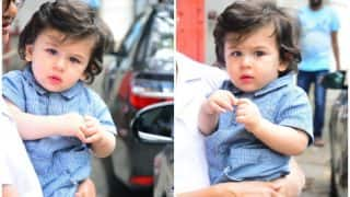 Taimur Ali Khan Is Here To Brighten Your Day On a Gloomy Mumbai Morning
