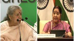 इराक में भारतीयों की हत्या: कांग्रेस की मांग माफी मांगें सुषमा, परिजनों को मिले 2 करोड़ मुआवजा