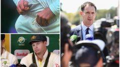 बॉल टेम्परिंग से 'कटी नाक' तो ऑस्ट्रेलिया के होश आए ठिकाने , स्मिथ की कप्तानी पर लटकी 'तलवार'