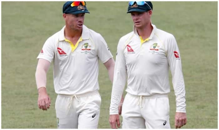 File picture of Steve Smith and David Warner.