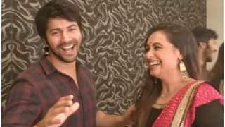Varun Dhawan Shares His Hichki Moment With Rani Mukerji, Says I Froze During My First Award Show