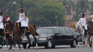 राष्ट्रपति, उपराष्ट्रपति के वाहनों पर जल्द दिखेगी नंबर प्लेट