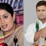 Rahul Gandhi Slams PM Narendra Modi With 'Gabbar Singh Tax' Jibe; Smriti Irani Says Congress President's Hatred For India is Astonishing