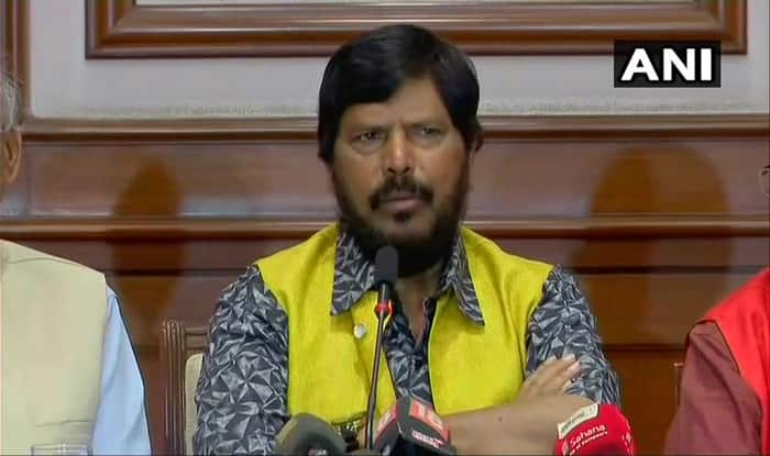 BJP Will Form Government in 2019 General Elections, Says Minister Ramdas Athawale