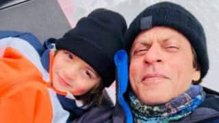 Shah Rukh Khan Is A Proud Dad As AbRam Becomes Speed Skiing Champion (PICS)