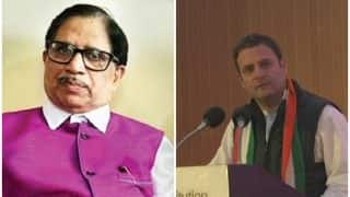 Rahul Gandhi's Speech at Plenary Session 'Inspired' Goa Congress President Shantaram Naik to Resign