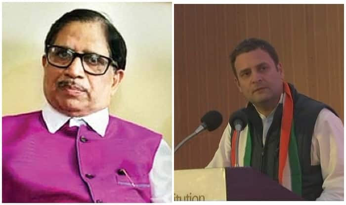 'Inspired' by Rahul Gandhi's speech, Goa Congress president Shantaram Naik resigns