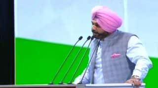 Congress Plenary Session Day 2: Navjot Singh Sidhu Says Rahul Gandhi Will Hoist Flag at Red Fort Next Year, Praises Manmohan Singh