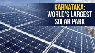 World's Largest Solar Park With 2000 MW Capacity Inaugurated in Karnataka's Pavagada