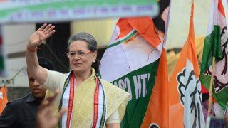 सोनिया गांधी आज रायबरेली में करेंगी करोड़ों की विकास योजनाओं का शिलान्यास