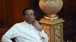 भारत-जापान की यात्रा से श्रीलंका लौटते ही राष्ट्रपति सीरीसेना ने देश से हटाया आपातकाल