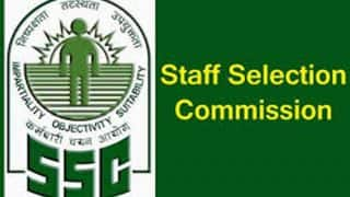 SSC Recruitment 2018: Notification For Various Posts Released by Staff Selection Commission; Apply at ssc.nic.in