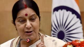 Sushma Swaraj's Aircraft en Route to Mauritius Goes Incommunicado For 14 Minutes