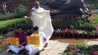 TDP MPs to Intensify Protest Against Narendra Modi Government For Not Granting Special Status to Andhra Pradesh