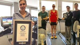 Blind Ireland Woman Sets Astonishing 12-hour Treadmill Running Record, Breaks Guinness World Record