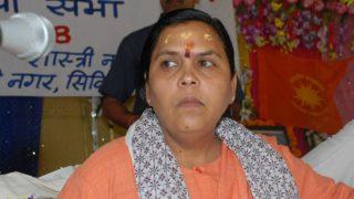उद्धव ठाकरे की तारीफ कर केंद्रीय मंत्री उमा भारती ने कहा- राम मंदिर पर बीजेपी का पेटेंट नहीं
