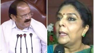 Reduce Your Weight, Increase That of Congress: Venkaiah Naidu's Advice to Renuka Chowdhury