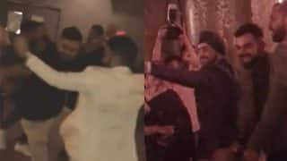 Virat Kohli Does Bhangra and Dances To Kajra Re at Friend's Wedding; Anushka Sharma's Parents also Seen in the Videos